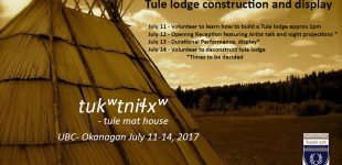tule mat house: Indigenizing the Built Environment